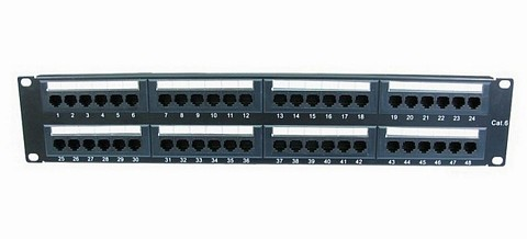 48 Port Patch Panel Cat6