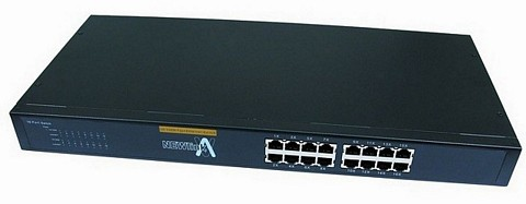 16 Port 10/100 Ethernet Network Switch