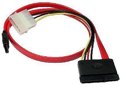 Serial ATA Power & Data Combo Cable