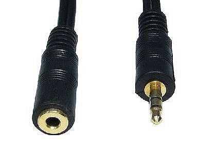 Stereo 3.5mm Jack Extension Cables