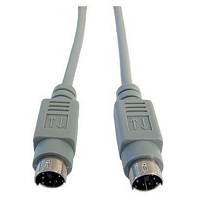 PS/2 Male to Male Data Cables