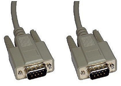 Serial 9 Pin Male to Male Cables