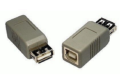 USB Adaptor Type A Female to B Female