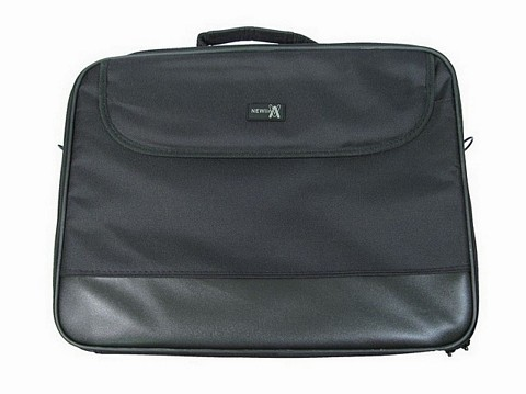 "Black 17"" Widescreen Laptop Bag"