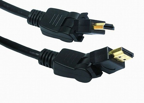 HDMI Swivel Cables Gold