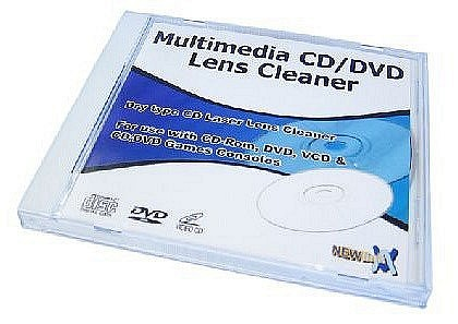 CD DVD Lens Cleaner