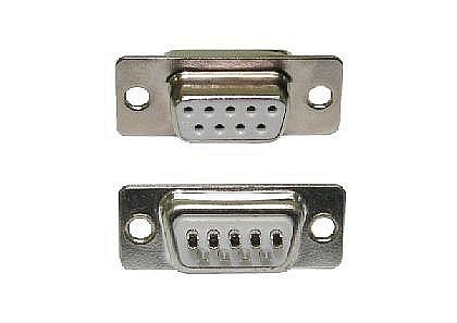 D9 Female Connector Solder Type