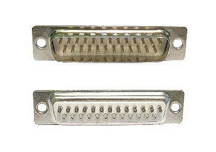 D25 Male Connector Solder Type