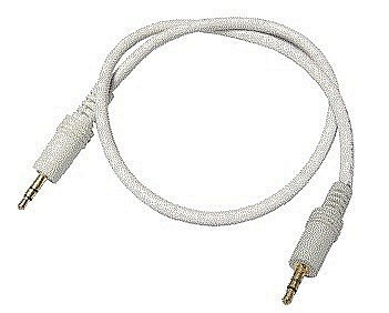 Stereo 3.5mm Jack to Jack Cables White