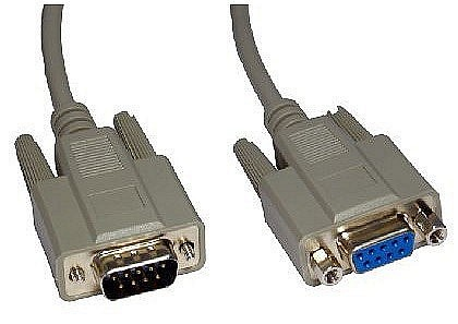 Serial 9 Pin Extension Cables